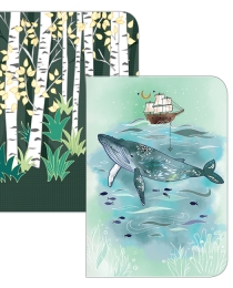 NB02 Sea & Forest Pocket Notebooks