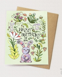 BD55 Bunny Folk