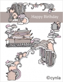 DL09 Castle - Birthday Card