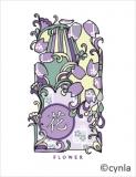 KC02 Hana Flower  - Blank Card
