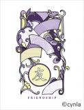 KC03 Friendship Fans - Blank Card