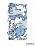 KC07 Water Mizu - Blank Card