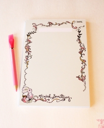 NP02 Bunny Finish Notepad - Cynla