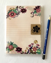 NP12 Moon Flowers Notepad