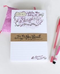 NP06 Sleeping Notepad - Cynla