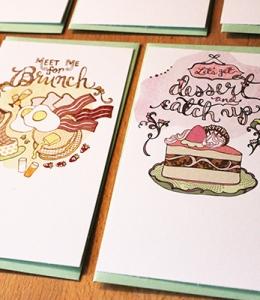 Brunch and Dessert notes