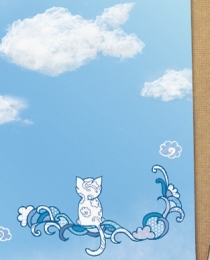 BK10 Cloudy Cat