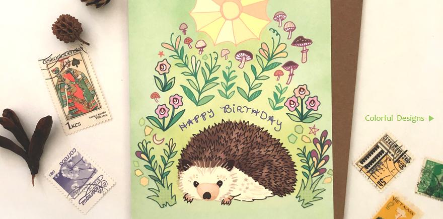 Cynla Hedgehog Banner
